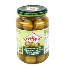 Crespo Pitted Ripe Green Olives In Brine
