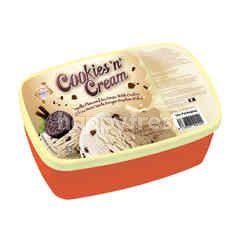 King's Ice Cream Cookies 'N' Cream