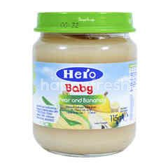 Hero Baby Food Pear and Banana