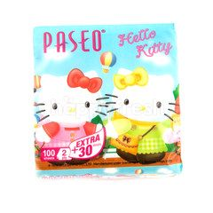 Paseo Hello Kitty Facial Tissue (130 sheets)