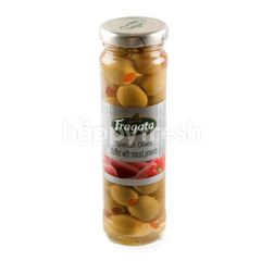 Fragata Spanish Olives Stuffed With Minced Pimiento