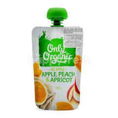 Only Organic Apple, Peach & Apricot Puree