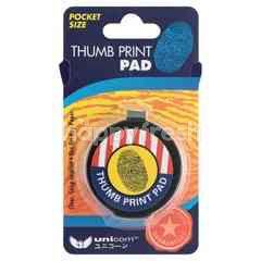 Unicorn Thumb Print Pad