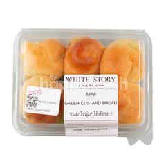 White Story Mini Green Custard Bread