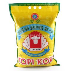 Topi Koki Super Slyp White Rice