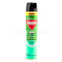 Baygon Mosquitos Flies and Cockroaches Repellent Natural Eucalyptus Scent in Big Bottle