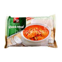 S&P Quick Meal Pork Panang Curry With Rice