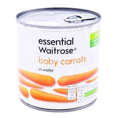 Waitrose Baby Carrots In Water