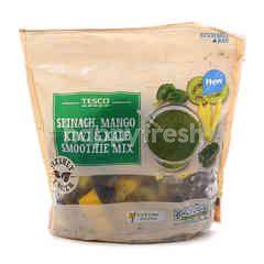 Tesco Spinach, Mango, Kiwi & Kale Smoothie Mix
