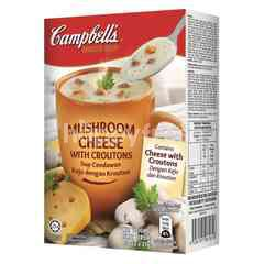 Campbell's Instant Soup Mushroom Cheese With Croutons