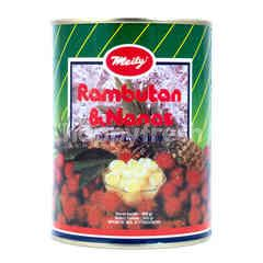 Meily Rambutan and Pineapple in Syrup