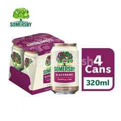 Somersby Blackberry Cider Can (4X320ml)