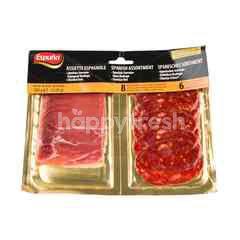 Espuna Slice Serrano Ham & Chorizo Hot
