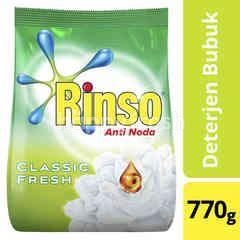 Rinso Anti Noda Deterjen Bubuk dengan Kristal Biru