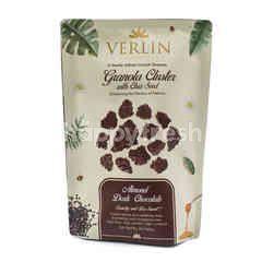 Verlin Granola Bar dengan Biji Chia Kacang Almond Cokelat Hitam