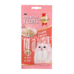 Smart Heart Chicken Flavoured Creamy Cat Treats (4 Packets)