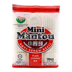 Figo Plain Mini Mantou (12 Pieces)