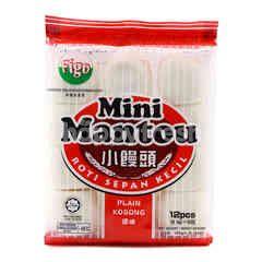 Figo Plain Mini Mantou (12 Pieces)