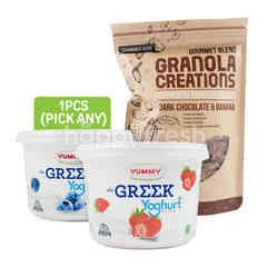 Yummy Granola Creations Package 4