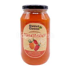 Sweet & Green Red Tomato Soup