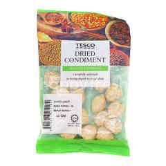 Tesco Dried Condiment Candle Nut