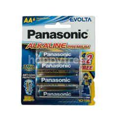 Panasonic Evolta Alkaline Premium AA Batteries