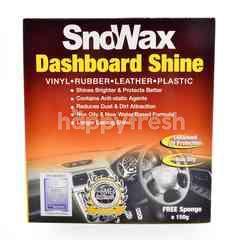 Sno Wax Dashboard Shine With Free Sponge