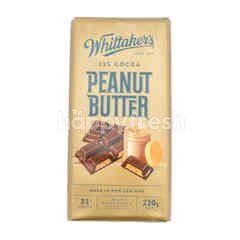 Whittaker's 33% Cocoa Peanut Butter Milk Chocolate