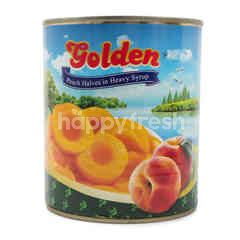 Golden Peach Halves in Heavy Syrup