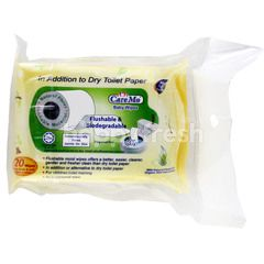 Care Mo Flushable & Biodegradable Baby Body Wipes