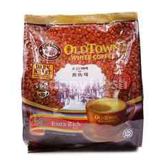Old Town 3 In 1 Instant Premix White Coffee (15 Sticks)