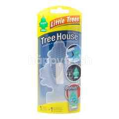 Little Trees Tree House Clear Air Freshener