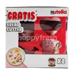 Nutella Chocolate and Hazelnut Spread Bread Cutter Pack