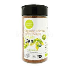 SIMPLY NATURAL Organic Coconut Nectar Sugar Ginger Tea (40% More Ginger)