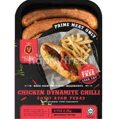 Victoria Crest Chicken Dynamite Chilli Sausages (8 Pieces)