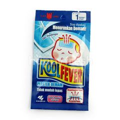 Kobayashi Cooling Gel Lowering Fever for Baby