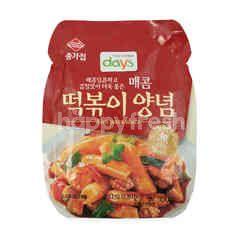 Chongga Rice Pasta Topokki Sauce