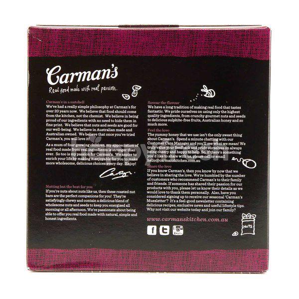 Carman's Nut Almond, Cashew & Cranberry Nut Bar