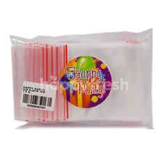 Happy Party Plastik Klip 7x10cm