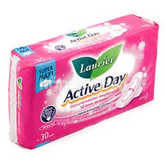 Laurier Active Day Super Maxi Pembalut Sayap