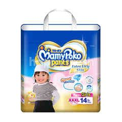 Mamy Poko Pants Extra Soft For Girls XXXL 14 Pcs