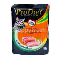 PRODIET Makanan Kucing Rasa Tuna Segar