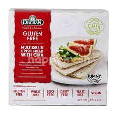Orgran Gluten Free Multigrain Crispibread With Chia
