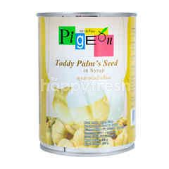 Pigeon Toddy Palm's Seed in Syrup