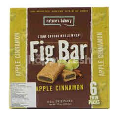 Nature's Bakery Stone Ground Whole Wheat Fig Bar Apple Cinnamon