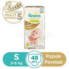 Pampers Premium Care Popok Perekat Bayi Ukuran S 3-8kg