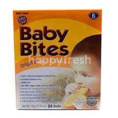 Take One Baby Bites Original Rice Rusks