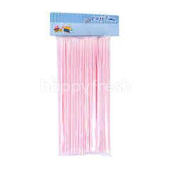 Party time Red Straw