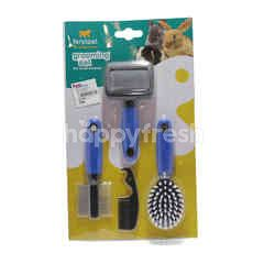 Ferplast Grooming Set For Small Animals (3 Pieces)