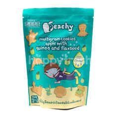 Peachy Kukis Biji-Bijian Apel dengan Quinoa dan Flaxseed 1+ Tahun